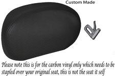 Fibra De Carbono Vinilo Custom encaja Suzuki An 400 Burgman 03-06 respaldo cubierta de asiento