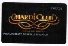 Peru Casino Slot Card Mardigras Club Sala de juegos black