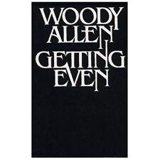 Getting Even - Woody Allen (Paperback)
