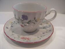 JOHNSON BROS. SUMMER CHINTZ CUP & SAUCER SET MADE IN ENGLAND