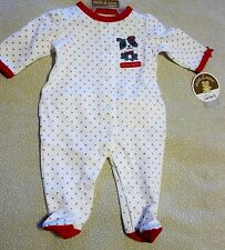 Infant My First Valentine one piece outfit Carter's Newborn Puppy & Hearts