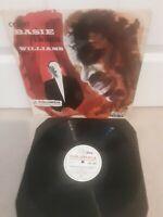 """Count Basie Swings And Joe Williams Sings Vinyl 12"""" Columbia LP 33CX 10026 1956"""