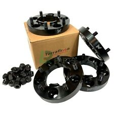 LAND ROVER DEFENDER & DISCOVERY 1 NEW TERRAFIRMA 30MM BLACK WHEEL SPACERS X4 SET