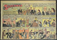 SUPERMAN SUNDAY COMIC STRIP #39 July 28, 1940 2/3 FULL Page DC Comics RARE