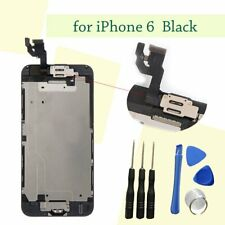 "For 4.7"" iPhone 6 Black LCD Touch Screen Digitizer Assembly Camera + Home Button"
