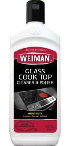 WEIMAN GLASS, INDUCTION & CERAMIC COOK TOP HEAVY DUTY CLEANER & POLISH 283 g