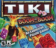 TIKI BOOM-BOOM (PC-CD, 2006) for Windows 98/Me/2000/XP - NEW in Jewel Case