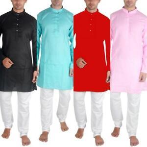 Sonisha MKP1000 Men's Kurta Pajama Indian Traditional Casual Wear Shalwar Kurta