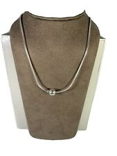 Authentic Pandora Essence Silver Collier Necklace