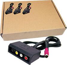 Lot-12 ATI sVideo - RCA/Svid Video Cable 6140023600-L12 All-In-Wonder Input Cabl