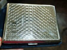 VINTAGE ORLIK CHROME METAL CIGARETTE CASE