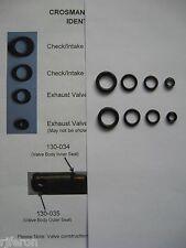Crosman 760 Rifle (PRE 1977)  Seal Repair Kit Kits (TWO SETS) - Seals & Guide