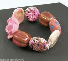 Unbranded Ceramic Costume Bracelets without Metal