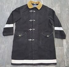 COLLECTORS RARE SAMPLE POLO RALPH LAUREN FIREMANS JACKET COAT W/REFLECTOR MEDIUM