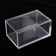 Clear Plastic Box for Regular Poker Sized Playing Card Holds 8 Pack of Cards
