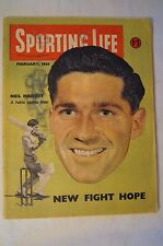 Cricket - Collectable - Vintage - 1953 - Sporting Life - Neil Harvey inc Others.