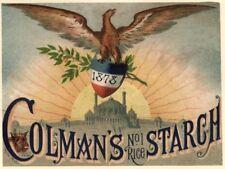 colman's Starch Vintage Advertising Art Print/Poster
