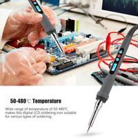 LCD Fer à Souder Électronique Numérique Température Réglable Chauffage interne