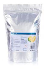 2kg de ácido cítrico Fino anhidra • Grado de alimentos • Baño Bomba • descalcificador • mayor calidad •