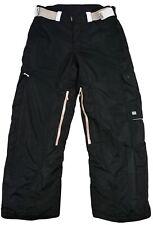 2117 of Sweden Hombres Pantalones Esquí Snowboard Negro Botón Cremallera Sz 50
