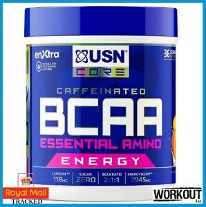 USN BCAA Essential Amino Energy 400g   36 Servings Orange Mango 10/21