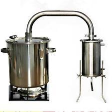 22L Moonshine Still Distiller Water Oil Alcohol Boiler Distillation Fermenter