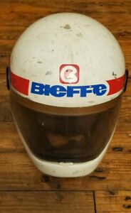 Bieffe Motorcycle BF 85 DOT Helmet Visor - Man Cave Decor - Retro Look, Vintage