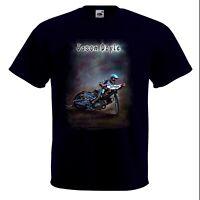 Airbrushed Super Banjo Player T-Shirt Super Hero Banjo Size S to XXXL