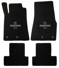 Mustang Carpet Floor Mats w/Shelby Snake GT500 Logo 2013-2014 Coupe&Convertible