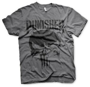 Officially Licensed Marvel's The Punisher Men's T-Shirt S-XXL Sizes