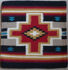 Wool Pillow Cover HIMayPC-64 Hand Woven Southwest Southwestern 18X18