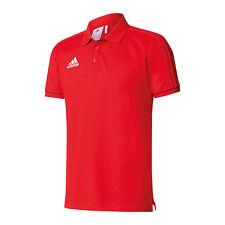 Adidas Uomo cotone Polo Tiro 17 Scarlet/black/bianco (rot) XXL