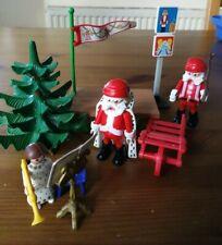 Playmobil Weihnachten Konvolut (Weihnachtsmann, Nikolaus, Mädchen, Tannenbaum)