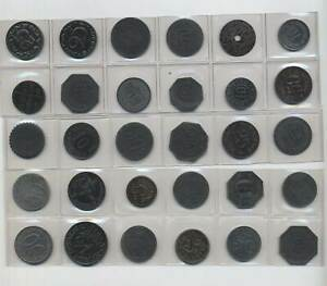 Notgeld  Lot 30 Münzen      *