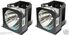 2x PANASONIC PT-D7700, PT-DW7000, PT-DW7000EK Lamp with OEM Ushio bulb inside