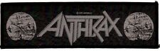 ANTHRAX 'GOT THE TIME' 1990 strip SEW-ON PATCH