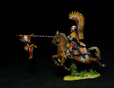 Russian Lead Miniatures. Polish Winged Hussar with Small Flag R