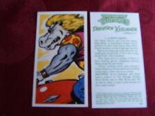 "BROOKE BOND TEA VINTAGE PICTURE CARD ""TEENAGE MUTANT HERO TURTLES"" No 1 A HIPPO"