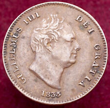 More details for great britain third farthing 1835 (h2506)