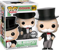 Mr Monopoly Funko Pop Vinyl New in Box