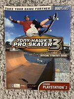 Tony Hawks Pro Skater 3 Official Strategy Guide Covers Playstation 2