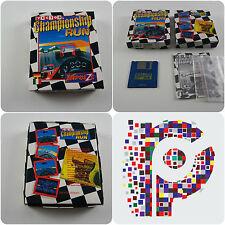 Championnat d'exécuter un impulze jeu pour le Commodore Amiga testé et de travail très bon état