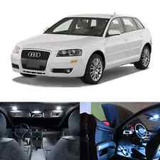 LED White Lights Interior Package Kit For Audi A3 S3 2006-2012 (10pcs)