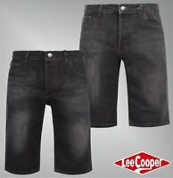 Mens Lee Cooper Silver Rivet Classic Denim Shorts Sizes Waist from 30 to 40