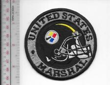 US MS Marshal Service Pennsylvania Field Office Pittsburgh Steelers Helmet Patch