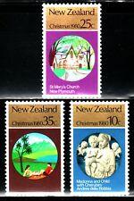SELLOS NAVIDAD NUEVA ZELANDA 1980 778/80   3v.