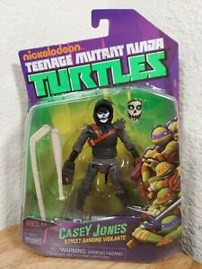 "TMNT ""2012 Nickelodeon Series"" CASEY JONES 2013 Action Figure Playmates Toys NEW"