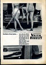 Pirelli--Veith Pirelli--Die Beine Ihres Autos---Werbung von 1964