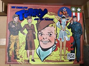 IDW TERRY & THE PIRATES VOL 5 1943-1944 : HARDCOVER : NEW CONDITION : RARE: LOAC