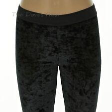 60b518b3aeafb SIMPLY VERA WANG Women s LARGE Size 12-14 BLACK VELVET LEGGINGS Elastic  Waist